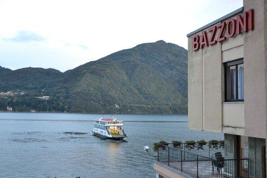 Hotel Bazzoni et du Lac: La vista dalla camera