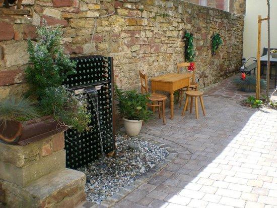 Das kleine Amtshotel: Innenhof