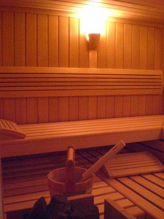 Das kleine Amtshotel: Finnische Sauna