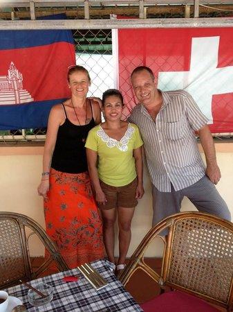 Guesthouse Swissgarden: Peter, Monika + Sumalee
