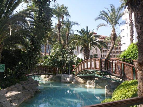 Otel Aqua: на территории отеля