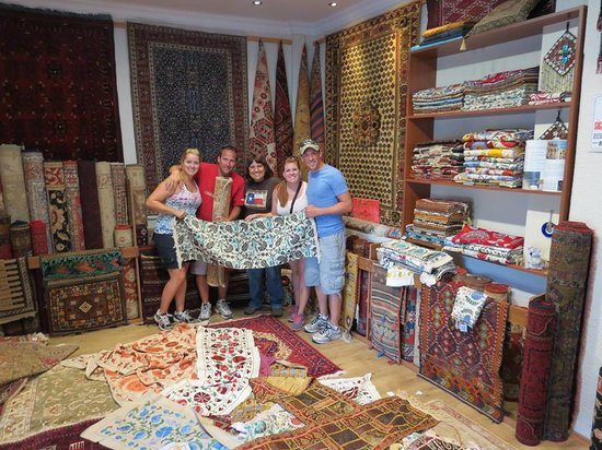 Lilys Authentic Art carpets and textiles shop
