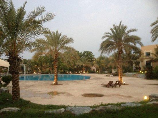 Hilton Ras Al Khaimah Resort & Spa: Pool side villa view