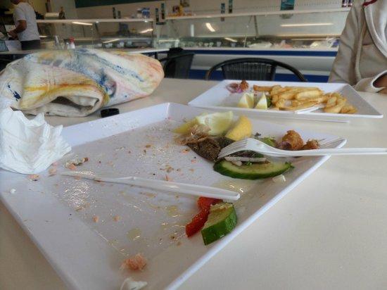 Kangaroo Island Fresh Seafoods: ciò che resta del nostro pranzo...