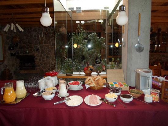 Posada el Castillo: ontbijt