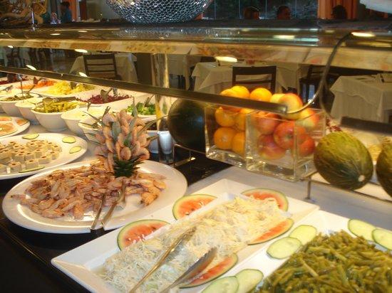 Aqua Hotel Onabrava & Spa: Resto du soir