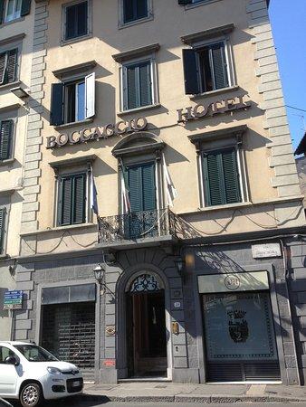 Hotel Boccaccio: Fachada