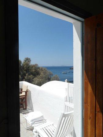 Akrotiri Hotel: Vue de la chambre