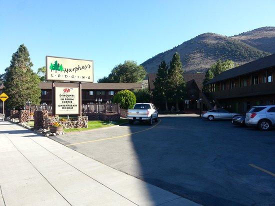 Murphey's Motel: Einfahrt