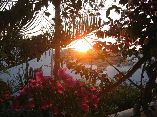 Pandora Rooms, Studios and Apartments: Sunset view
