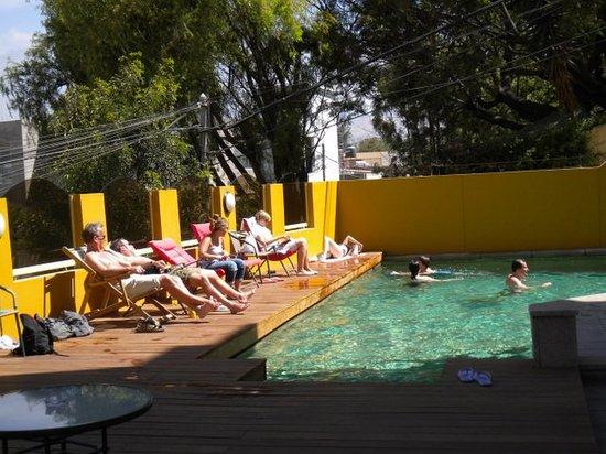 Posada el Castillo: zwembad