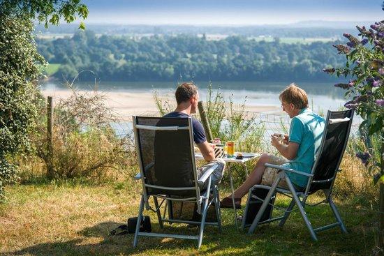 Camping de Chantepie : Vue sur Loire / Gorgeous River Loire View