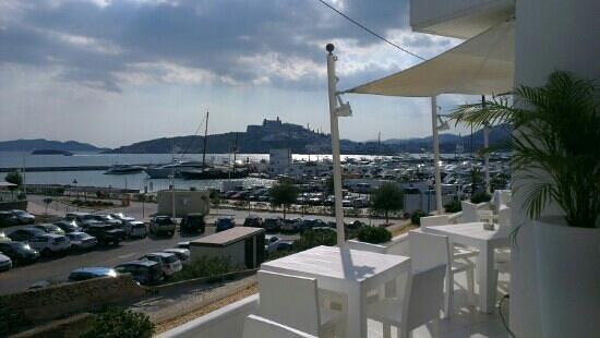 RocaMar Hotel : view to Dalt Vila