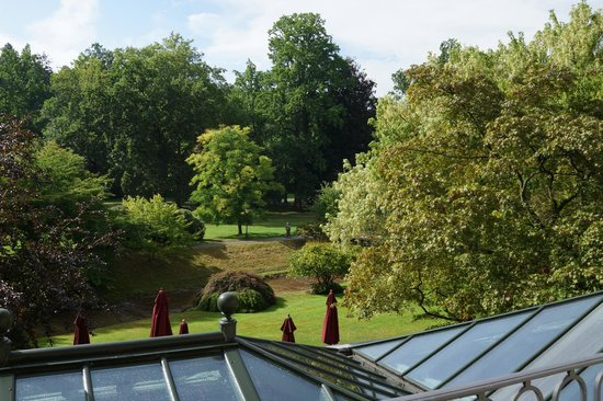 Brenners Park-Hotel & Spa: Beautiful peaceful outlook