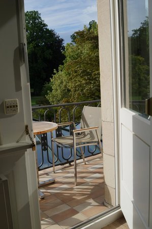 Brenners Park-Hotel & Spa: Our lovely balcony