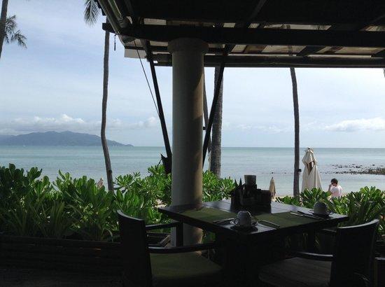 Melati Beach Resort & Spa: view from restaurant