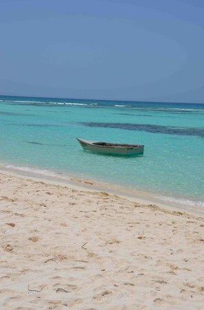 Playa Mariposa : saona canto de la playa
