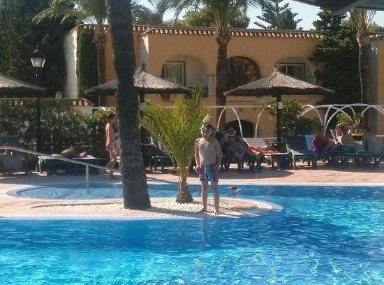 Meliá Atlanterra: piscina