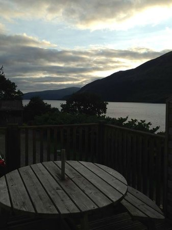 Letterfinlay Lodge Hotel : View from one of the bedroom windows (to private terrace)