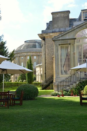 The Ickworth Hotel: From our garden table