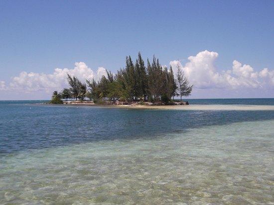 Palm Beach Roatan: isoletta