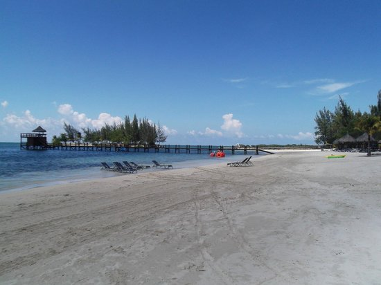 Palm Beach Roatan: spiaggia
