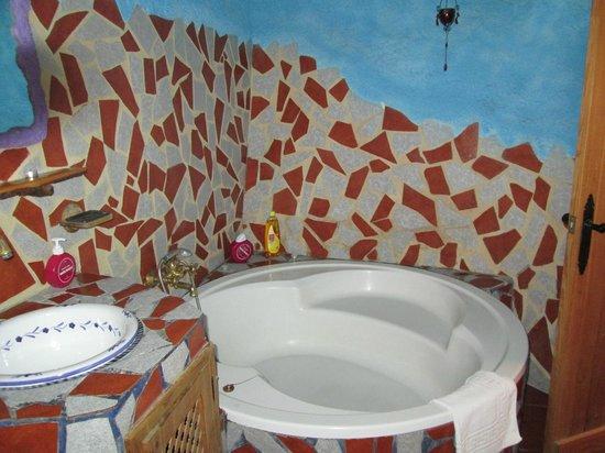 Hotel Los Caracoles: Baño