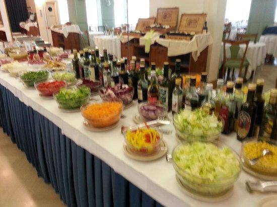 Vienna Touring: buffet insalate