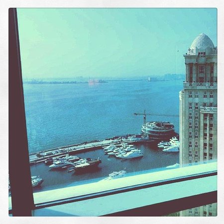 Hilton Doha: The view from my room on the 18th floor