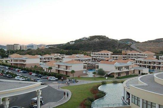 La Marquise Luxury Resort Complex: Aussicht von der Roof Top Bar