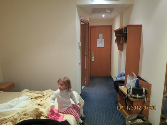 Holiday Inn Express Rome-east : Quarto do GP Hotel Roma