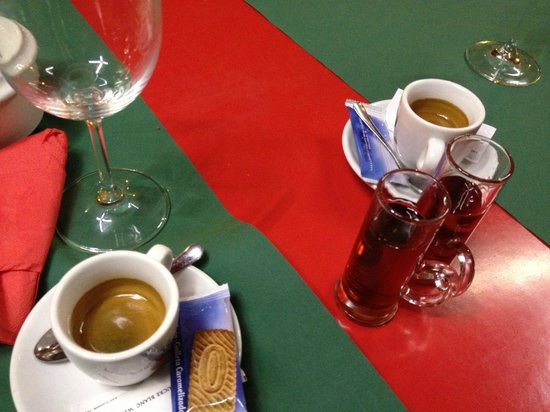 Café Tomate: Coffee and cognac
