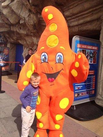 Sea Life Blackpool : Sea Life mascot