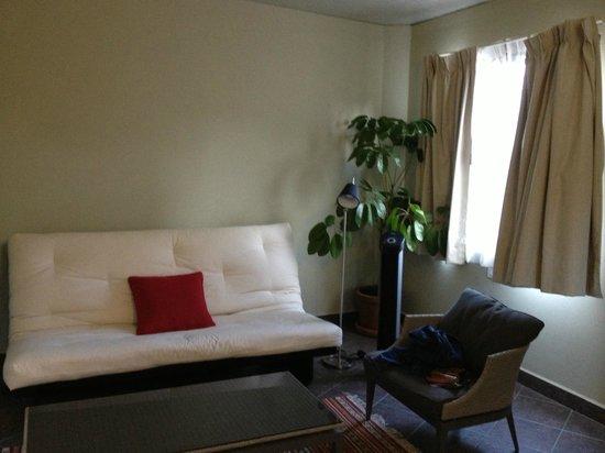 Hotel Villa Condesa: Sitting room