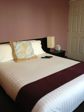 Hotel Villa Condesa: Bed