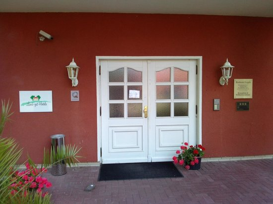 Wellnesshotel Legde: Eingang Wellnesszentrum