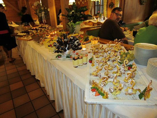 Anewandter Historic Hotel: serata con buffet dolci