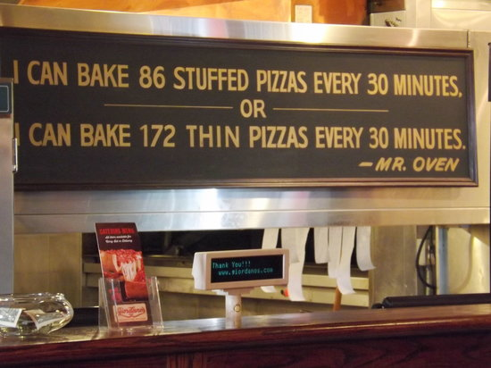 "Giordano's: A message from ""Mr. Oven"""