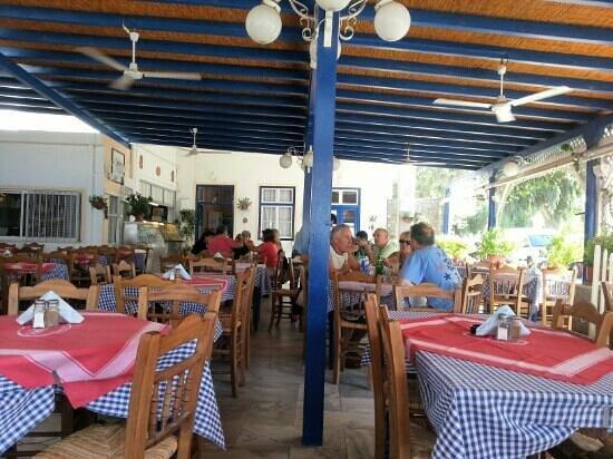 Taverna Katerina: outside eating area