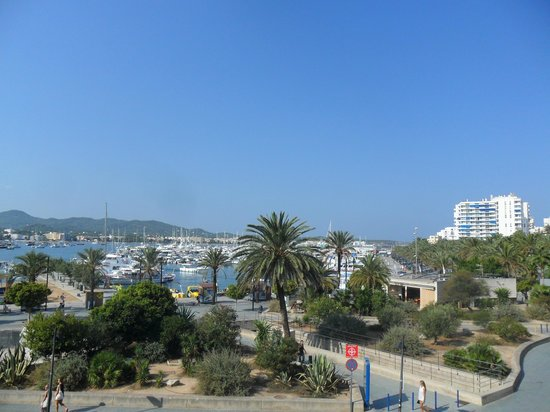The White Apartments by Ibiza Feeling: view from balcony