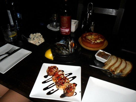 Tapas Restaurant & Lounge Bar : gorgeous food