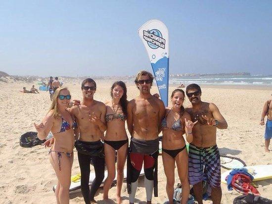 Peniche Surf Camp: Taking a break