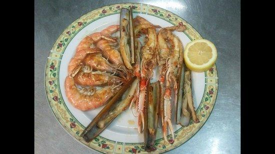 Restaurante Cambados: mariscada