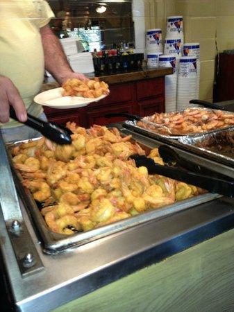 B J S Steaks And Seafood Buffet Fried