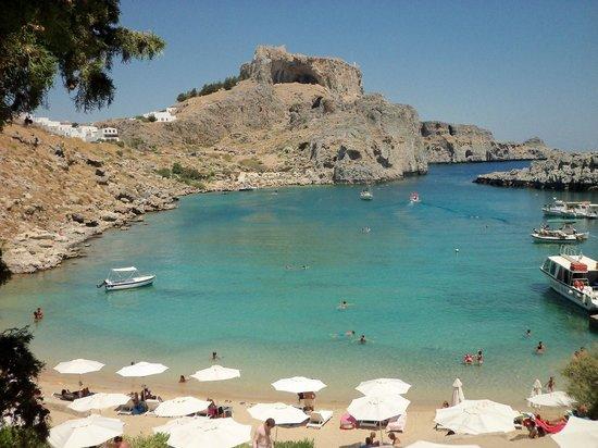 Agios Pavlos Beach (Saint Paul): St Pauls Bay.