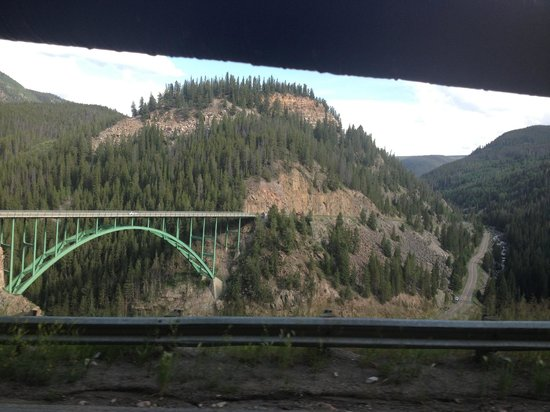 Timberline Tours: a view along the drive