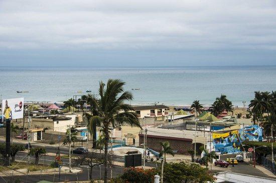 Balandra Hotel: vue sur une partie du balcon