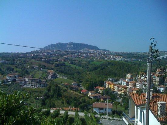 Villa Emma : Il bellissimo panorama