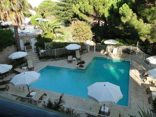Domaine du Calidianus : très belle vue sur une des piscines