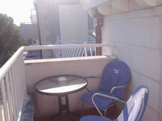 Villa Ruza: Sunny balcony